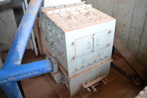 DPF建筑垃圾破碎机